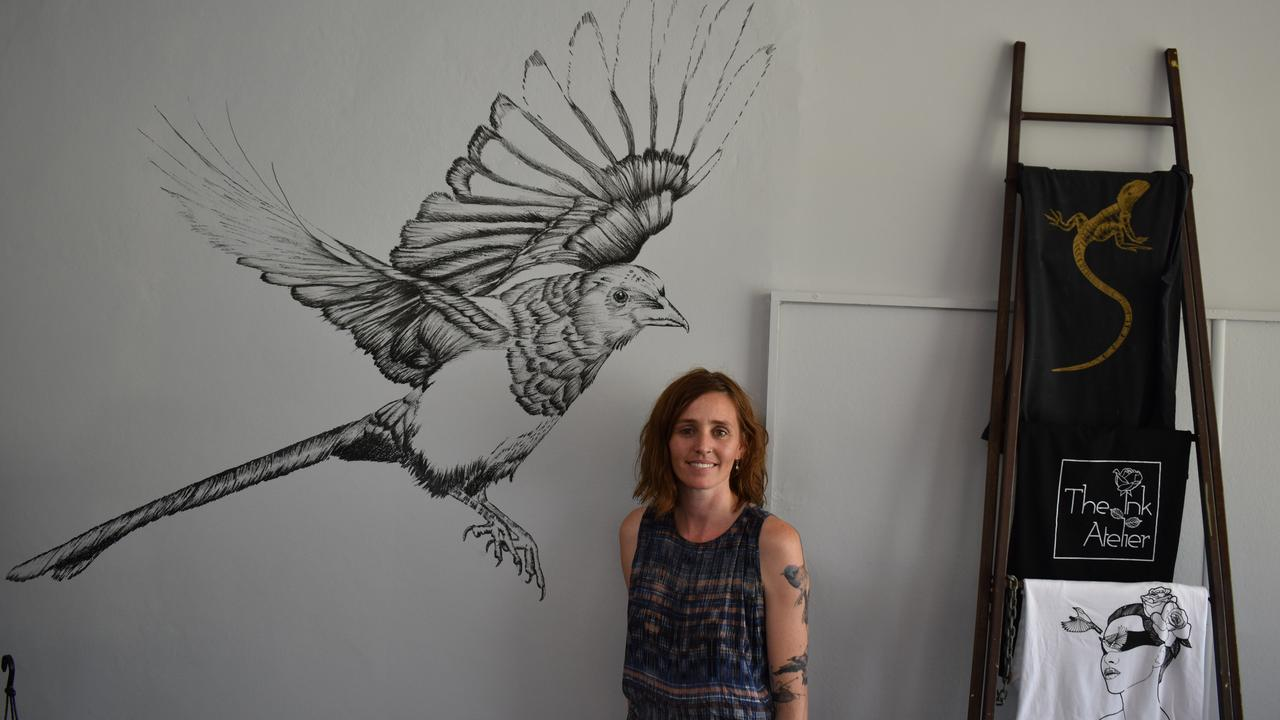 Stevi-Lee Alver has opened up her own tattoo studio in Lismore, The Ink Atelier.