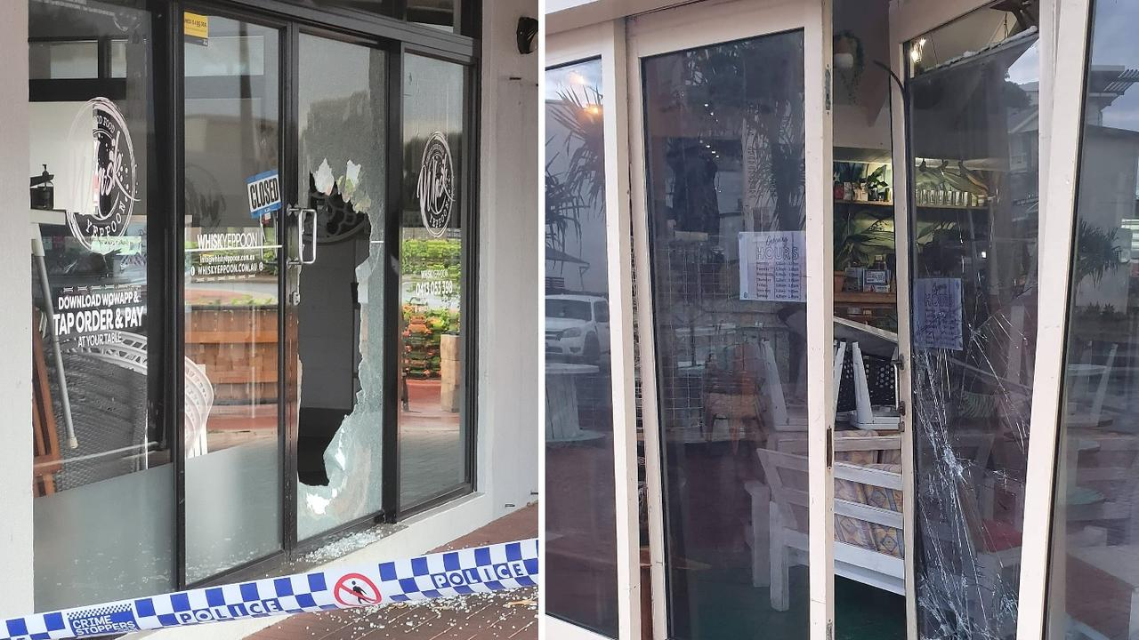 NOT AGAIN: Multiple Yeppoon business were vandalised and broken into early Tuesday morning including Whisk and Lure Living.