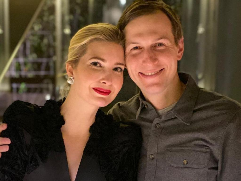 Ivanka Trump and Jared Kushner have reportedly bought a lot on an exclusive Miami island. Picture: Instagram