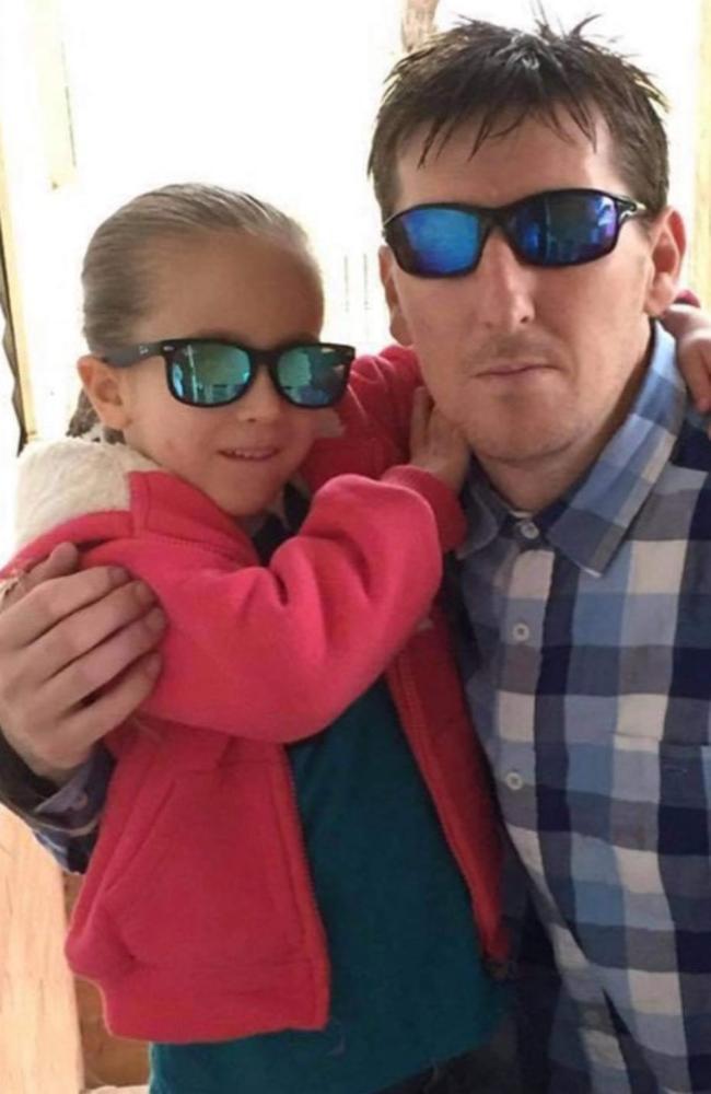 Lacinda King and her father, Jason King.