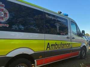 Man suffers head injury in two-vehicle crash