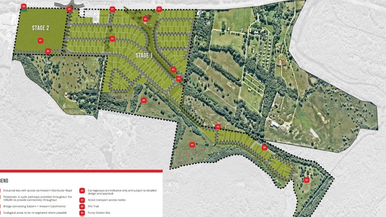 Previous plans related to the Harvest Estate proposal.