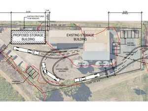Storage expansion plan proposed near turtle roundabout