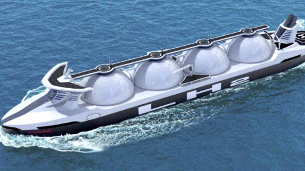 Liquid hydrogen could be exported from Townsville by ship.