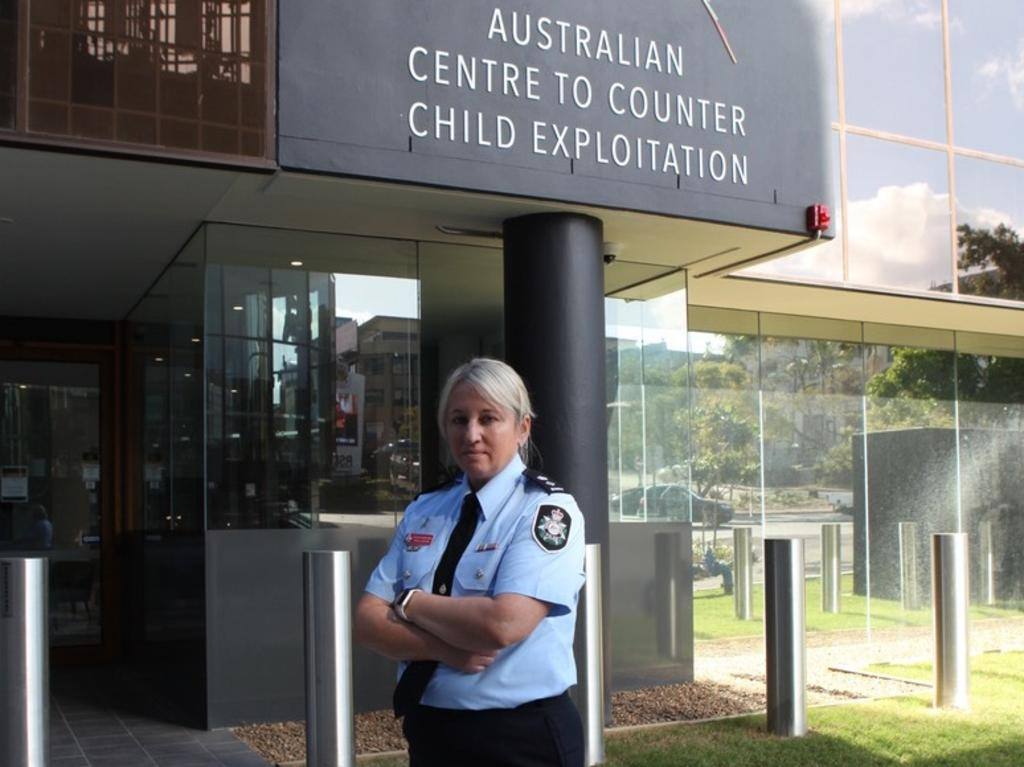 Detective Superintendent Paula Hudson heads up the Australian Centre to Counter Child Exploitation in Brisbane.