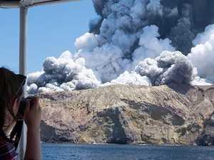 Volcano hell: Mystery stranger hailed