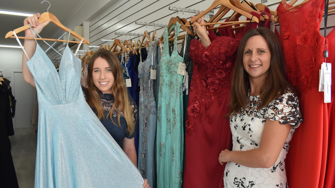 BAY BEAUTY: (L) Lyarnah and Laura at their store, Lykaysha Boutique on Bideford St. Photo: Stuart Fast
