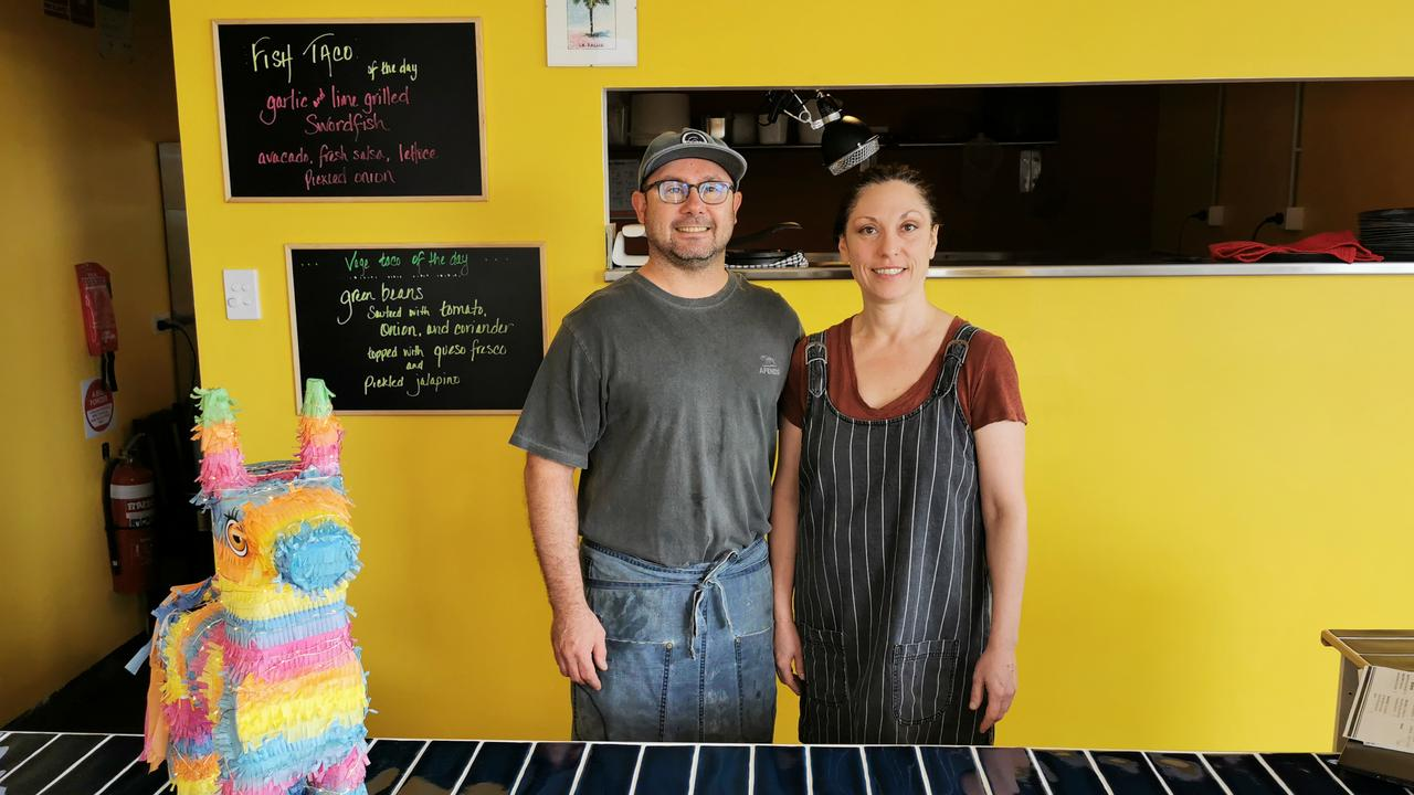 Owners of Bob's Tacos at Ballina, Rob Theaker and Sheri Smith, are bringing an authentic take to the popular cuisine.