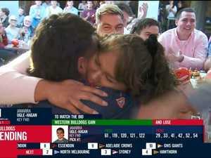 Tears in emotional AFL Draft drama