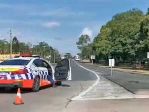 Why Ballina St bridge in Lismore was closed this morning
