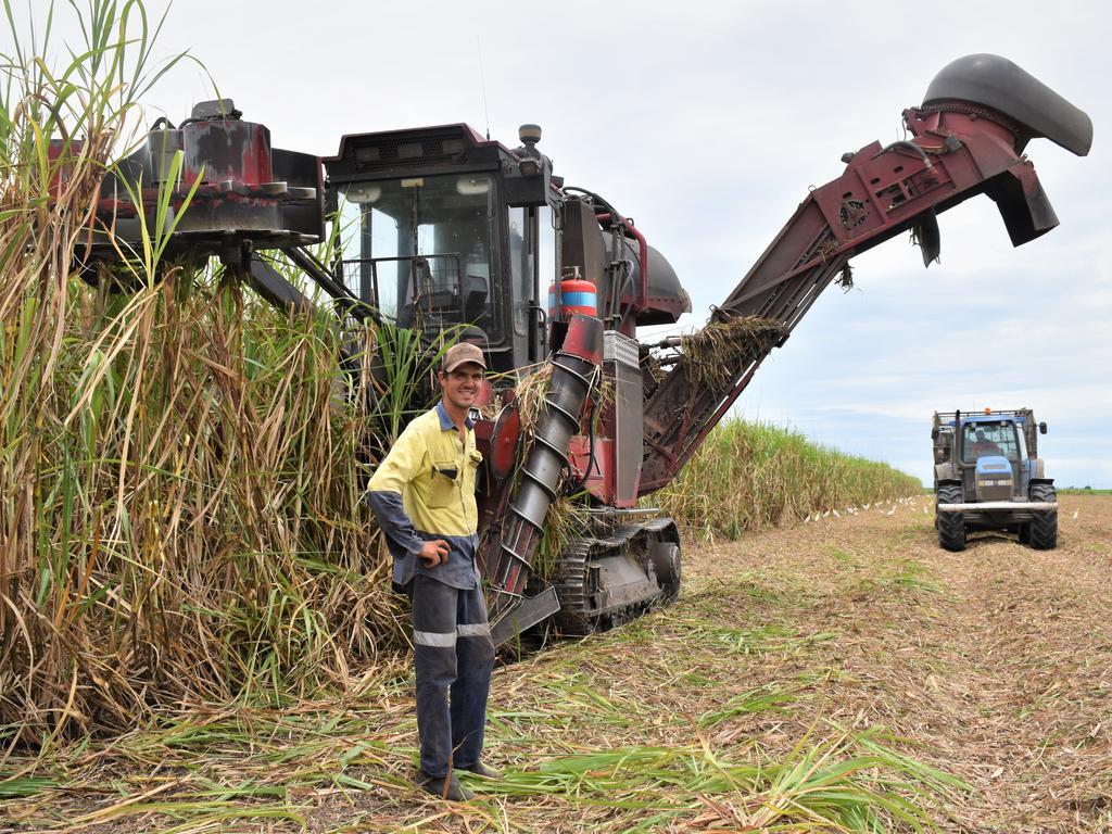 ALMOST THERE: Mackay sugar cane harvester Matt Vassallo on the last day of the crush. Picture: Heidi Petith