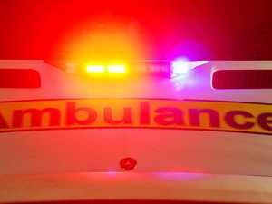 UPDATE: Three taken to hospital after highway truck crash