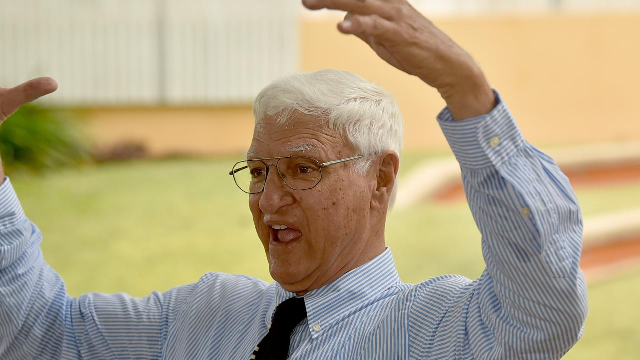 Passionate career politician Bob Katter wants a referendum on north Queensland becoming its own territory. Picture: Evan Morgan