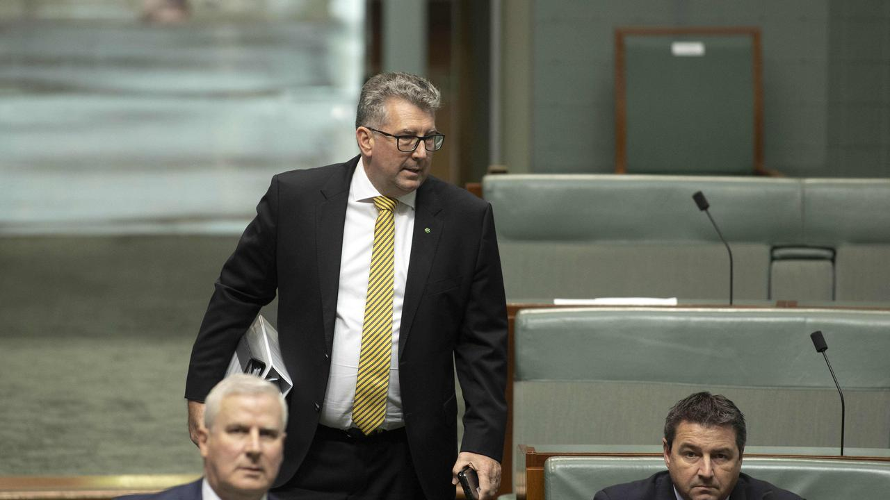 Keith Pitt Minister for Resources, Water and Northern Australia during Question Time in the House of Representatives in Parliament House Canberra. NCA NewsWire / Gary Ramage