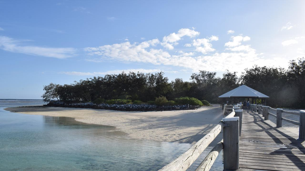 DESERTED ISLAND: Heron Island is closed until Friday while water desalination plant staff monitor supply levels following a shortage which forced the island's evacuation last weekend.