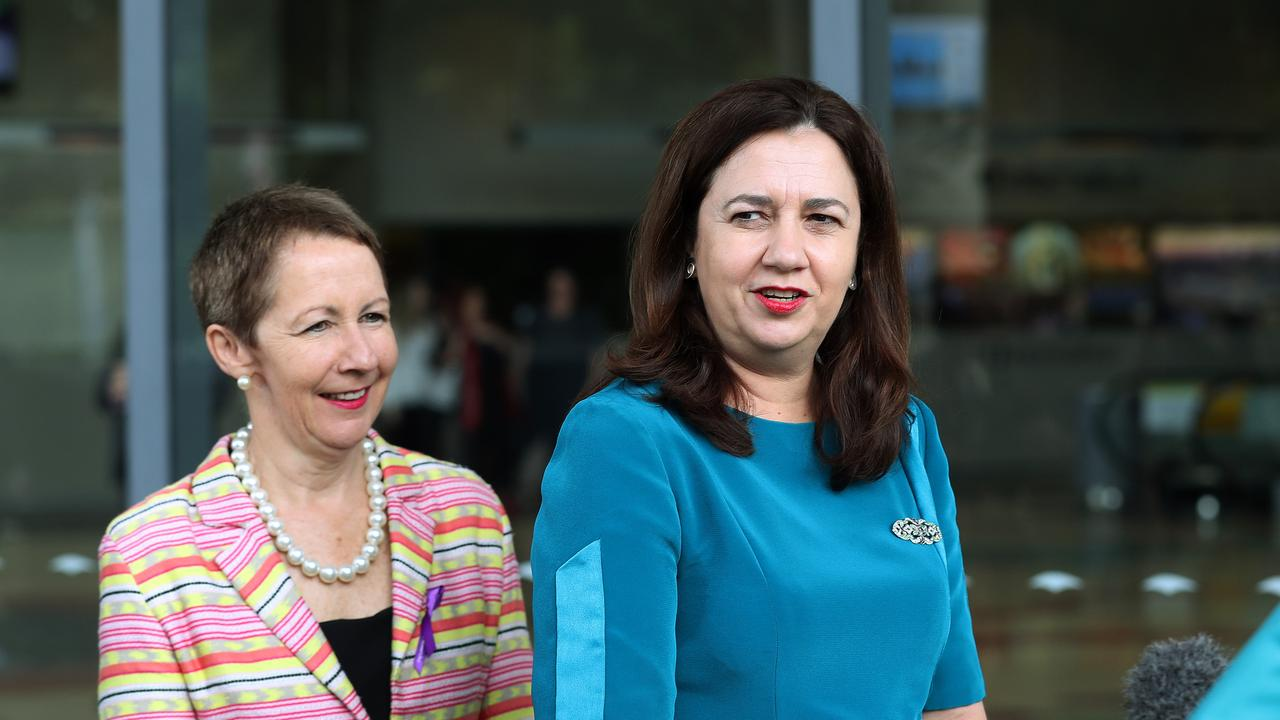 Minister for Training and Skills Development Di Farmer Di Farmer and Queensland Premier Annastacia Palaszczuk are looking forward to driving a skills-led economic recovery.