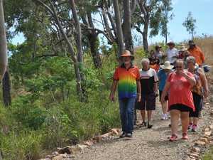 Back on track: Major step forward in Flagstaff Hill rebuild