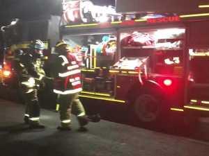 WATCH: Gympie house destroyed in fiery blaze