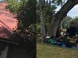 VIDEO: Occupants escape as fire guts Gympie home