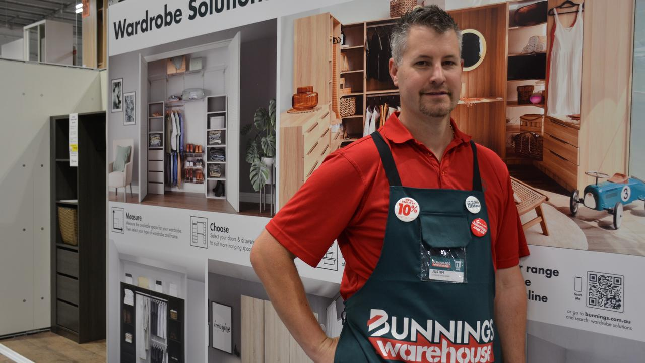 Look out Ikea — Midland Bunnings has a lot of wardrobe storage solutions. Picture: NCA NewsWire/Rebecca Le May