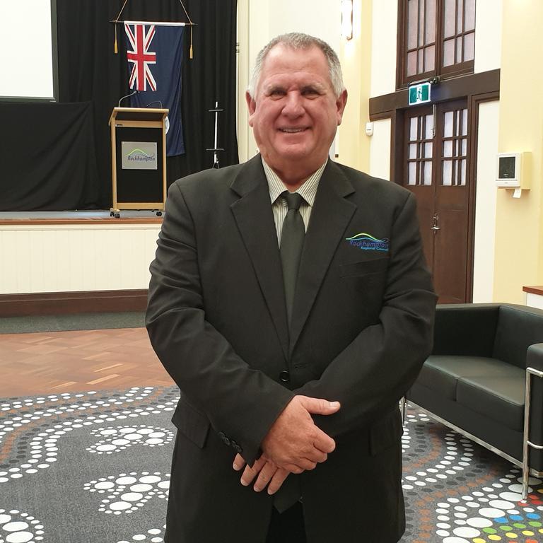 Acting Mayor Neil Fisher