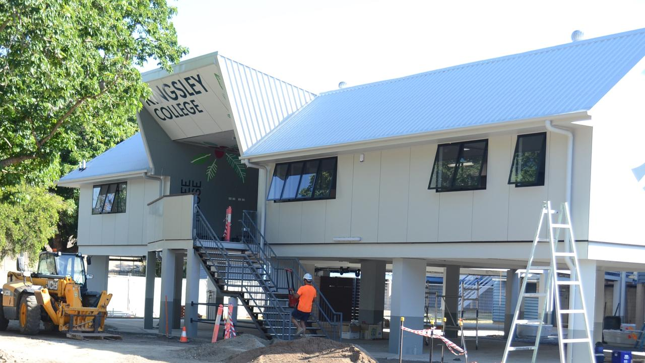 Kingsley College's new learning centre is situated in a flood zone