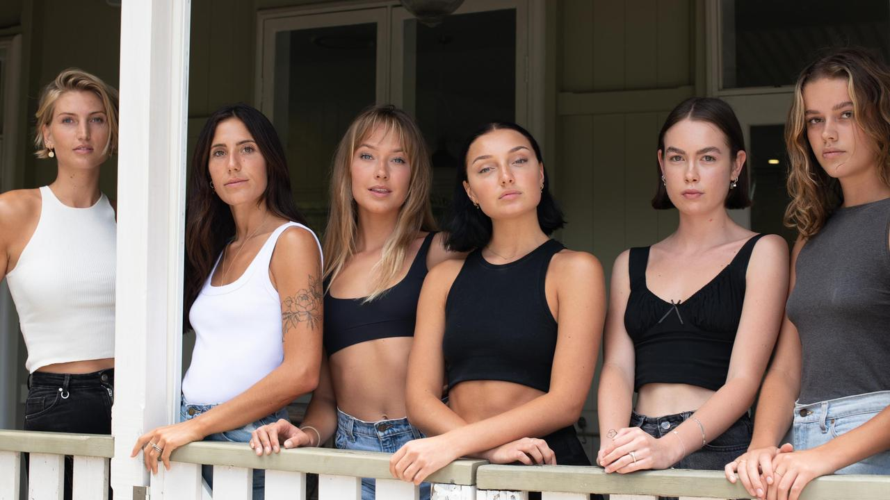 Suzan Rutten, Loni Tsitos, Sabrina Kehren, Kelsey Kimler, Mia Campbell and Isabella Marks.