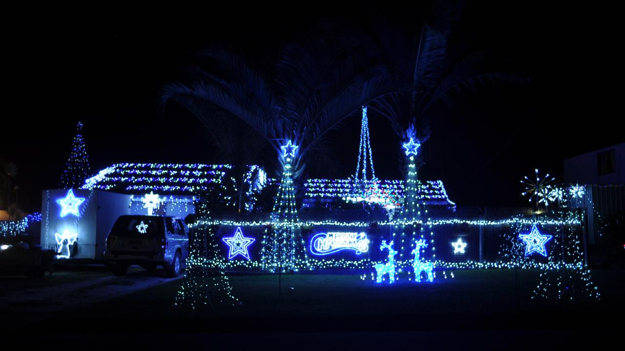 9 Scott Street is a previous winner in the Bowen Christmas Lights Competition. Photo: File