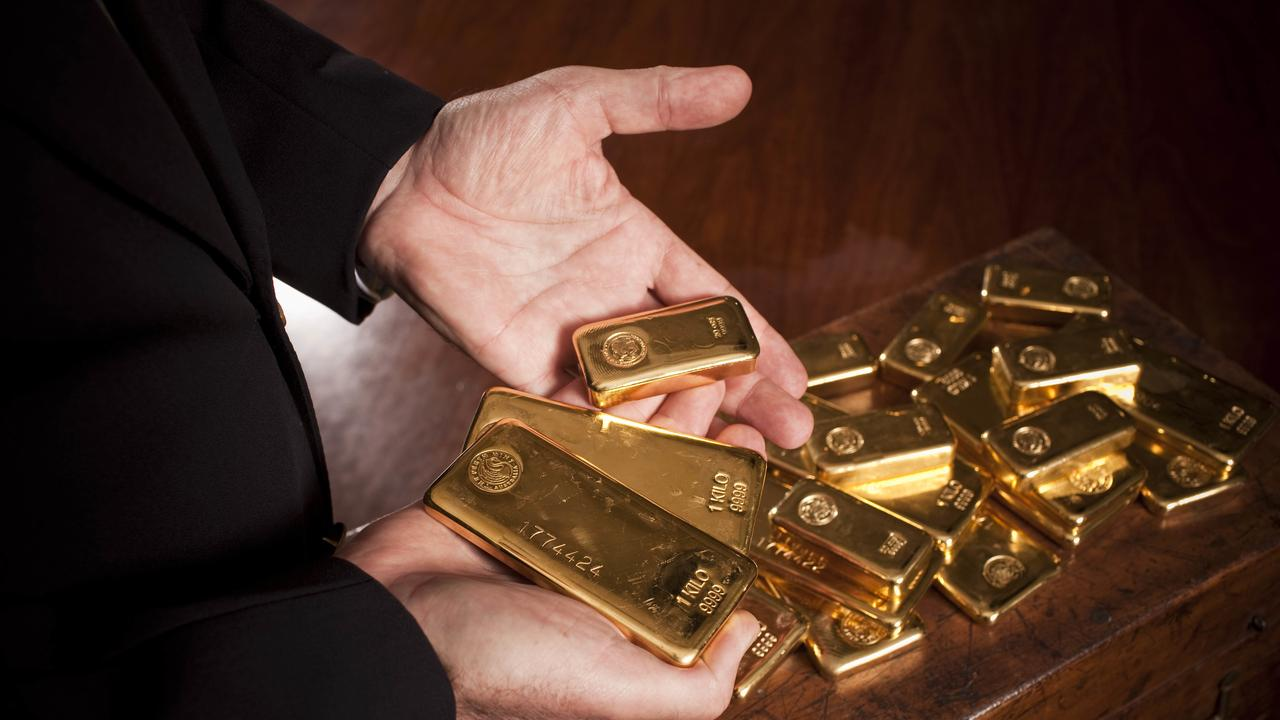 Gold stocks were among the losers. Picture: Tony McDonough/AAP