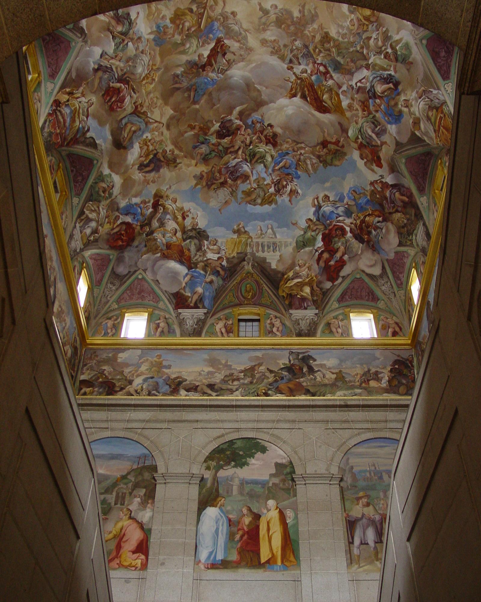 Inside El Escorial. Photo: iStock