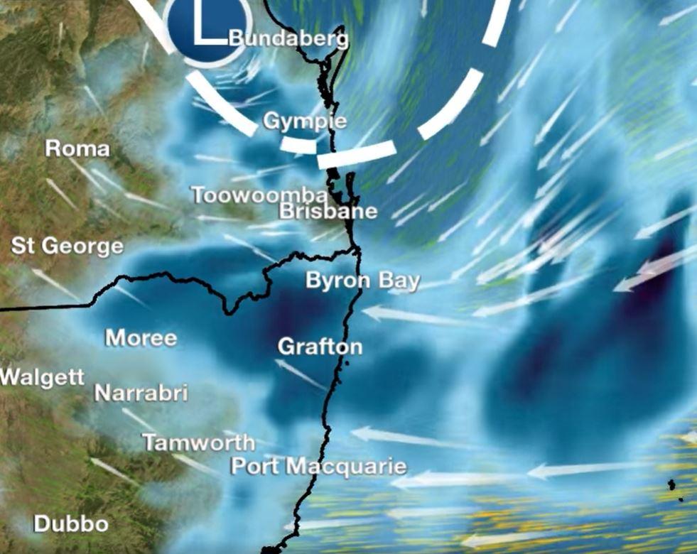 BoM says the region can expect heavy rainfall over the next four days.