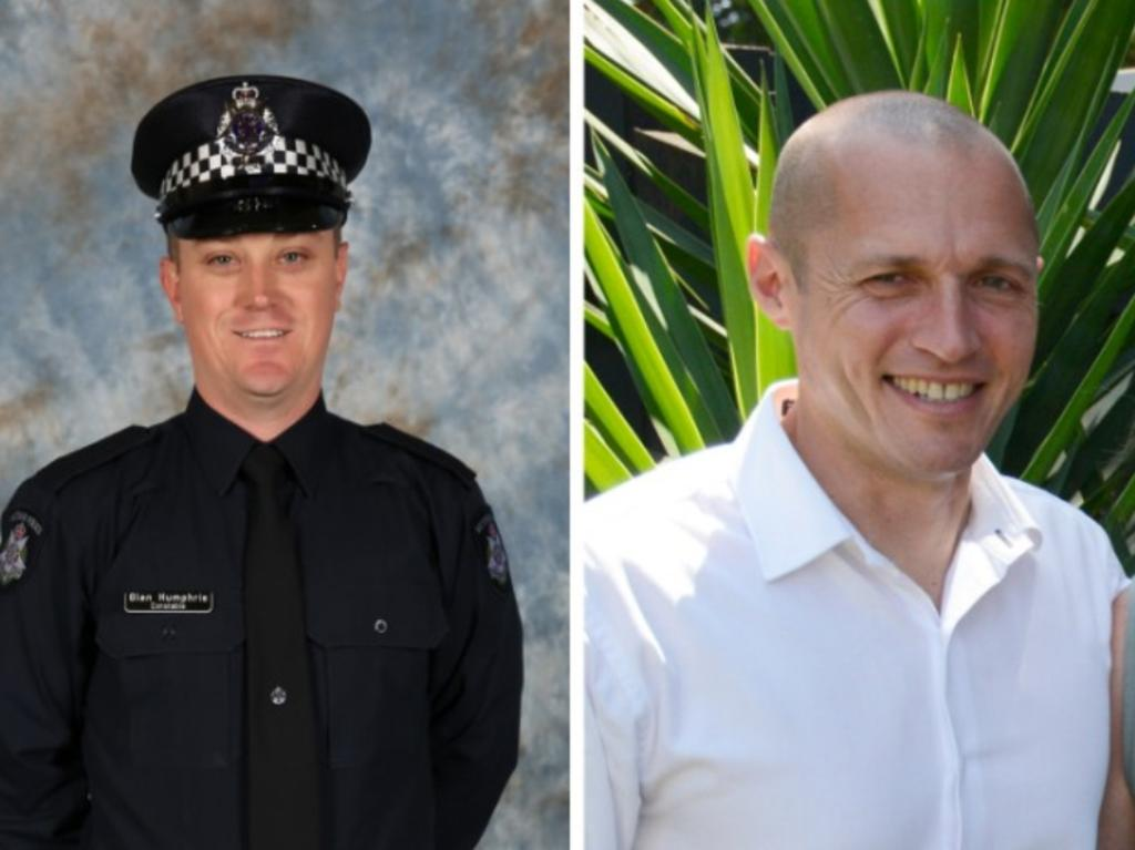 Constable Glen Humphris and Senior Constable Kevin King.