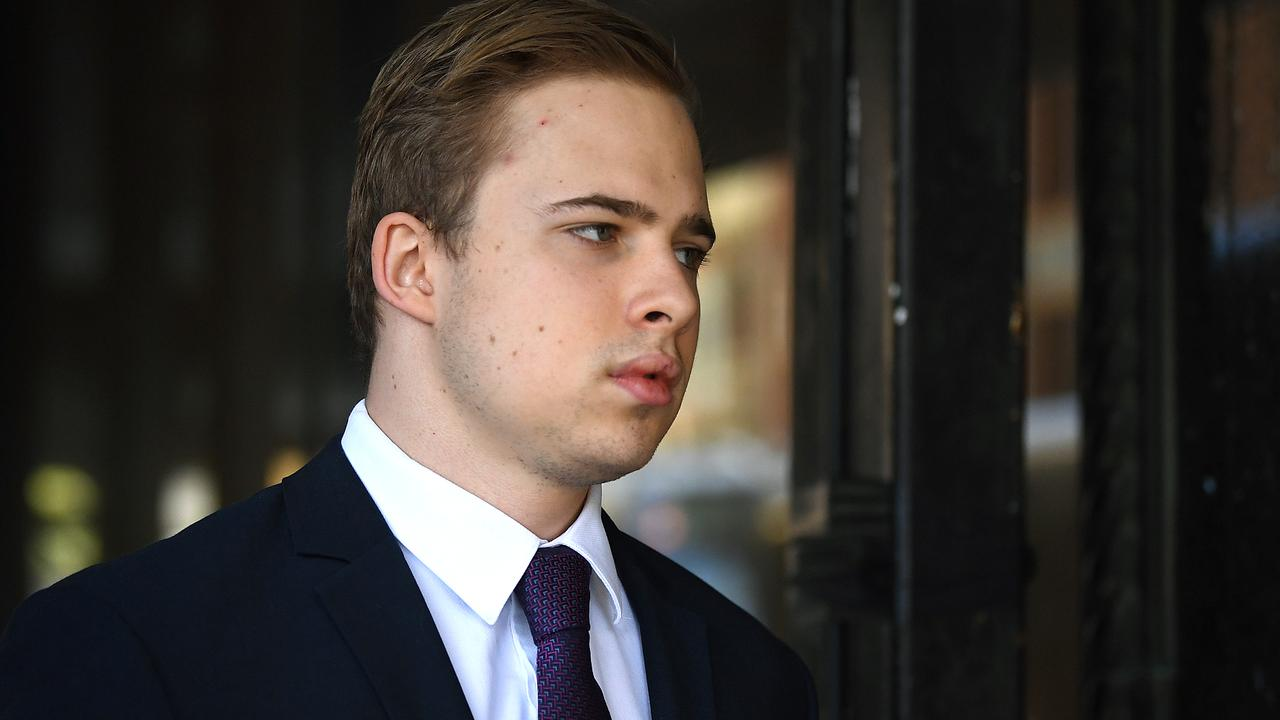 "Kyle Daniels' barrister attacked the Crown case against him from multiple directions on Friday, arguing the evidence from girls and parents had been ""contaminated"" and criticising the police investigation. Picture: NCA NewsWire/Joel Carrett"