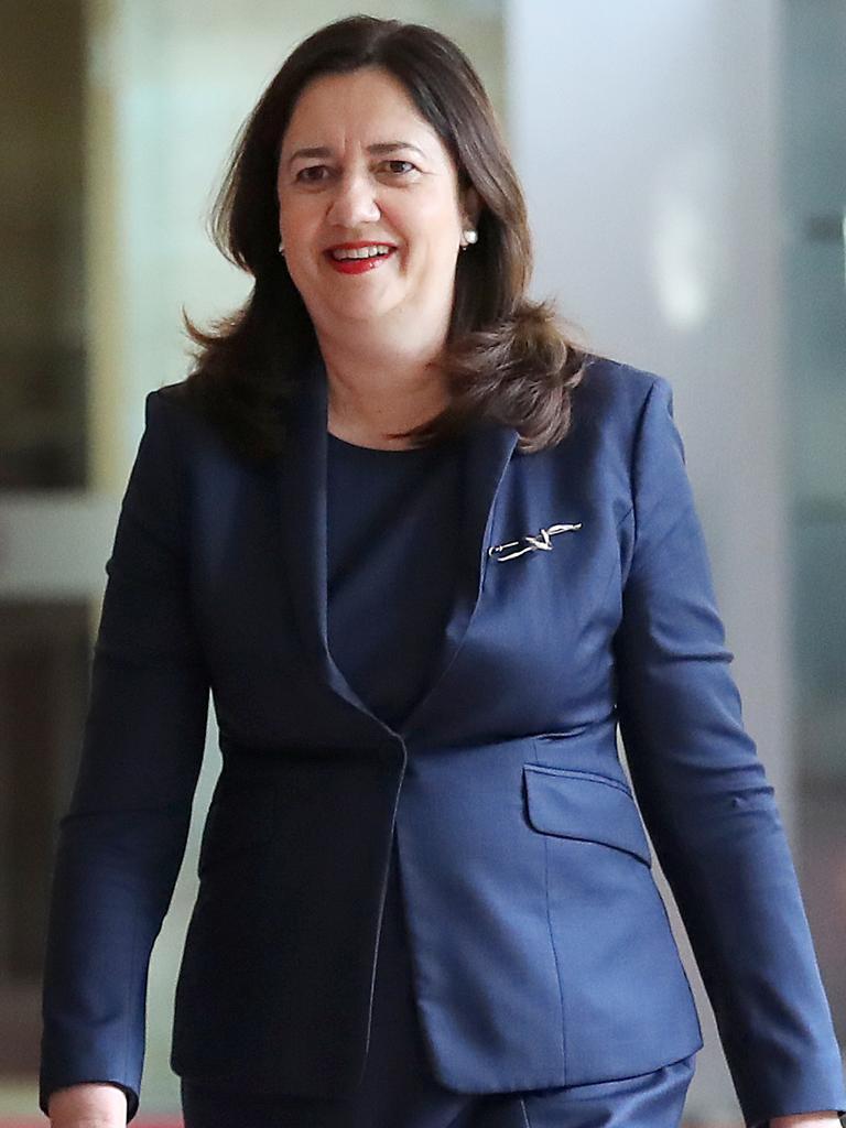 Premier Annastacia Palaszczuk. Picture: NCA NewsWire /Jono Searle