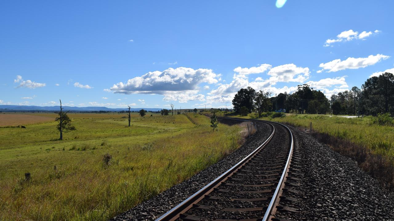Part of the proposed Northern Rivers Rail Trail.