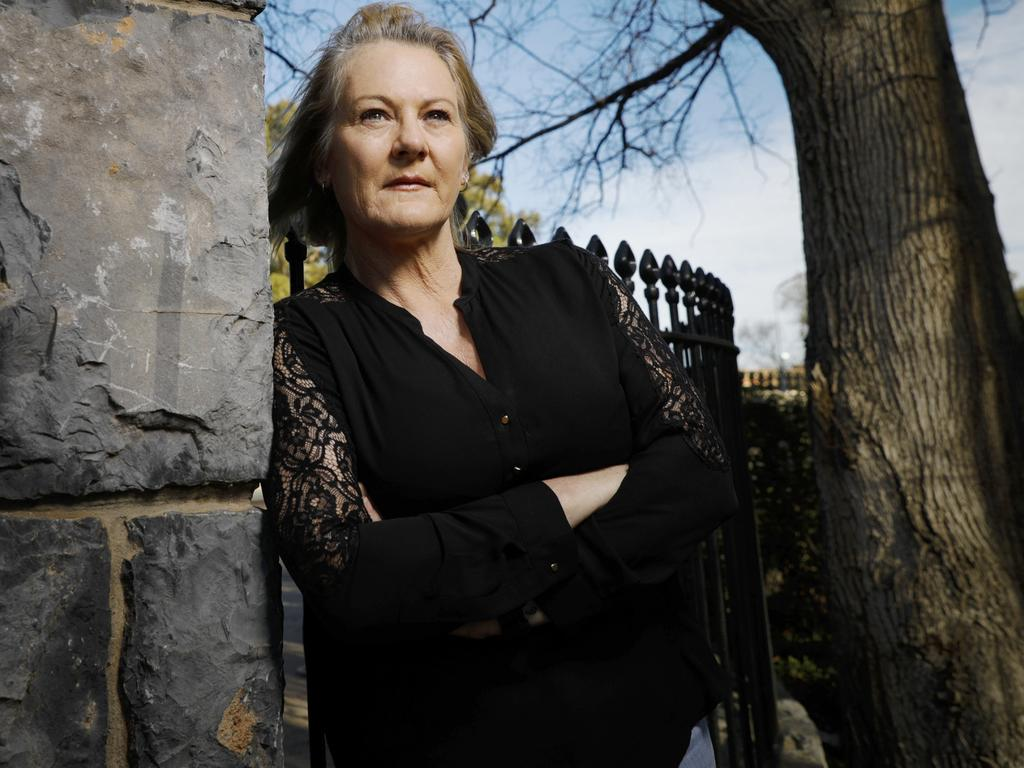 Maria Costigan, ex prison guard, photographed in Canberra, ACT. Picture: Sean Davey.