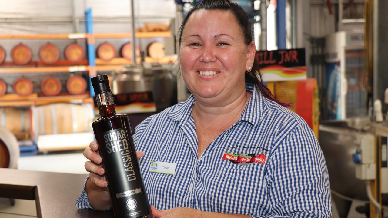 Sarina Sugar Shed distiller Sarah Parrott. Picture: Contributed