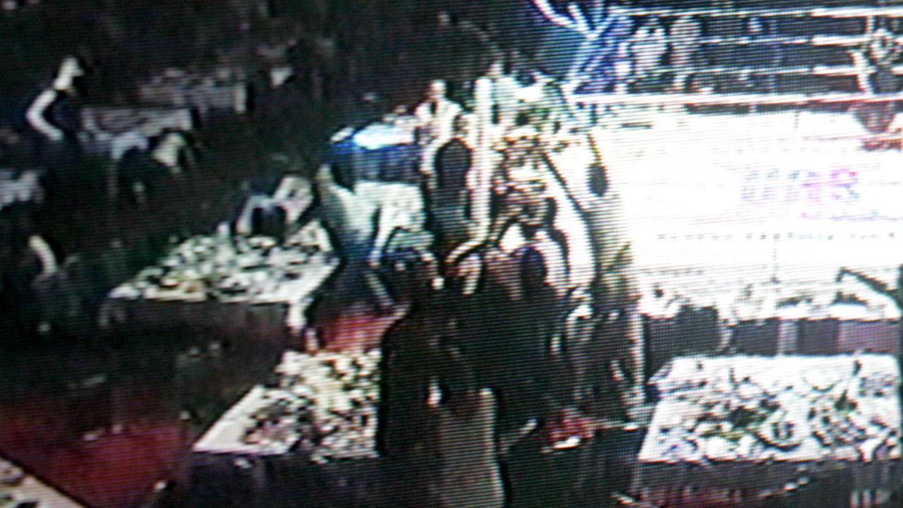 A video still of the Ballroom Blitz brawl. Picture: Jono Searle.