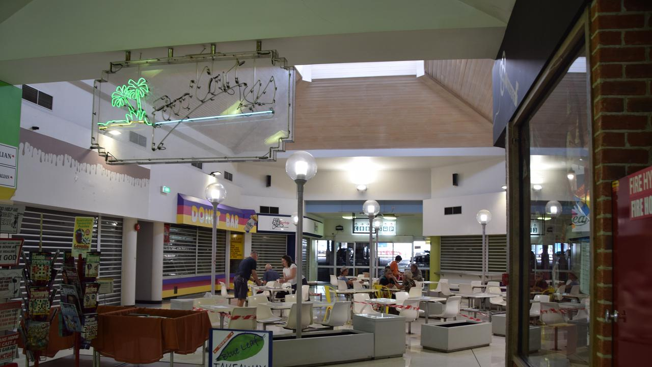 The food court at Kern Arcade.