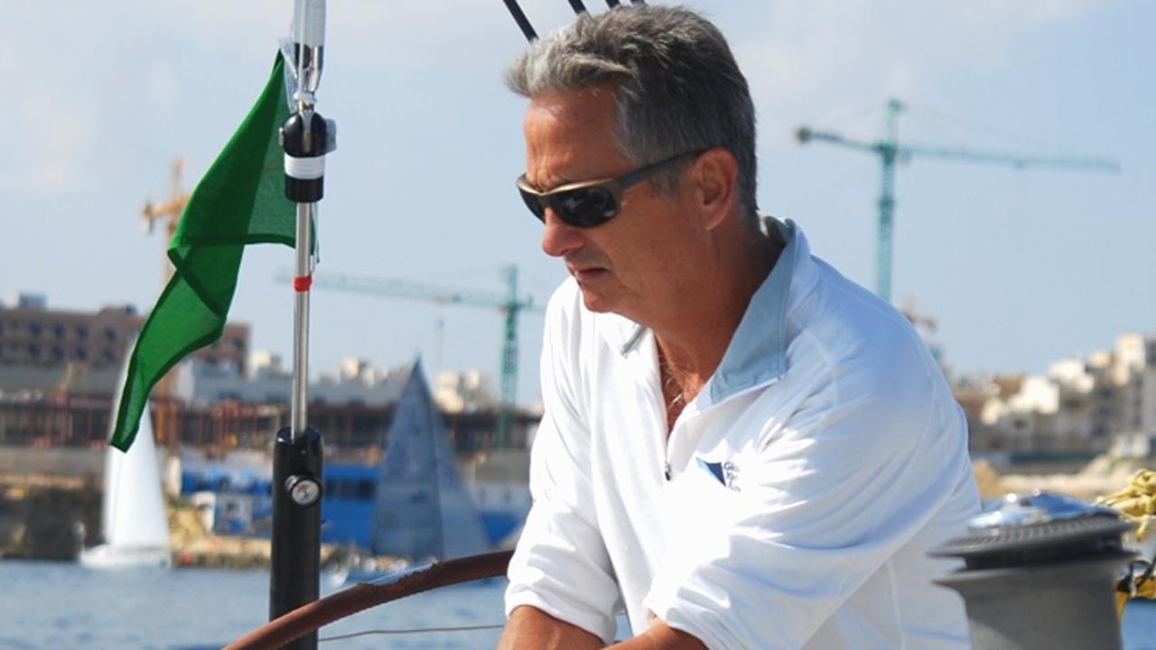 Sydney to Hobart yacht race stalwart Bob Thomas. Picture: