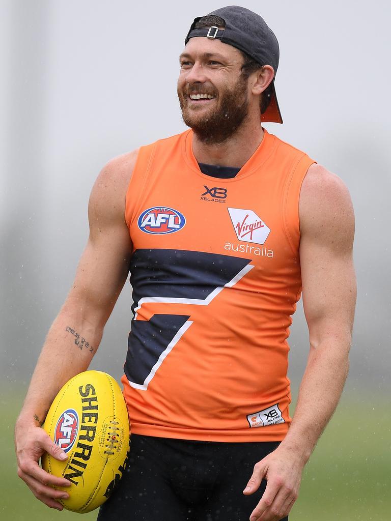 Sam Reid is back in orange.
