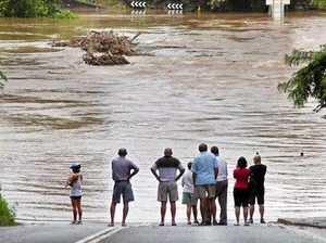 Sharks! Floods! Fire! Bello gets one-stop disaster shop