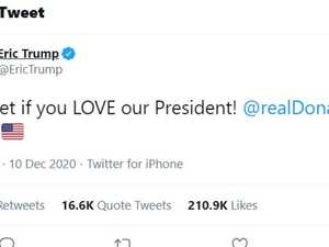 'We love Biden': Trump tweet backfires