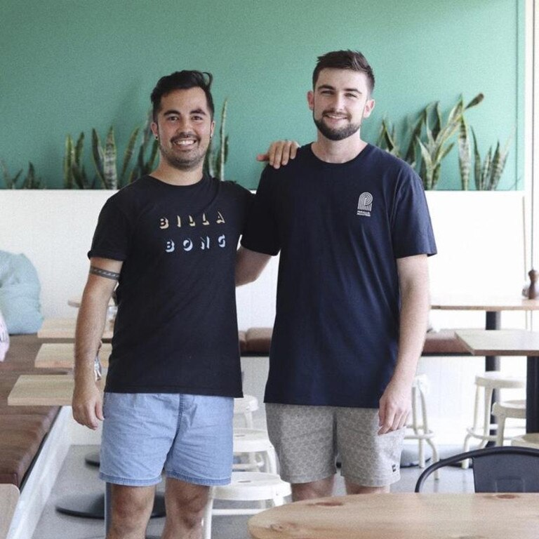 NUMBER ONE: Dulcie & Edna have been voted as having the region's best coffee. Co-owners Matthew Schnitzerling and Nathan Bultitude said the secret to their great coffee was having a good roaster, good training and consistency.