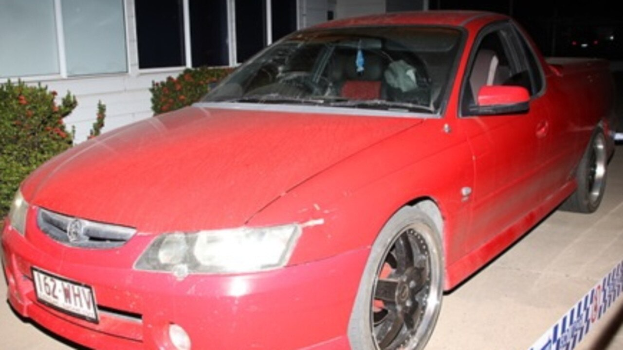 Police sent out alerts during the Moranbah assault investigation asking for information about this Holden Commodore utility.