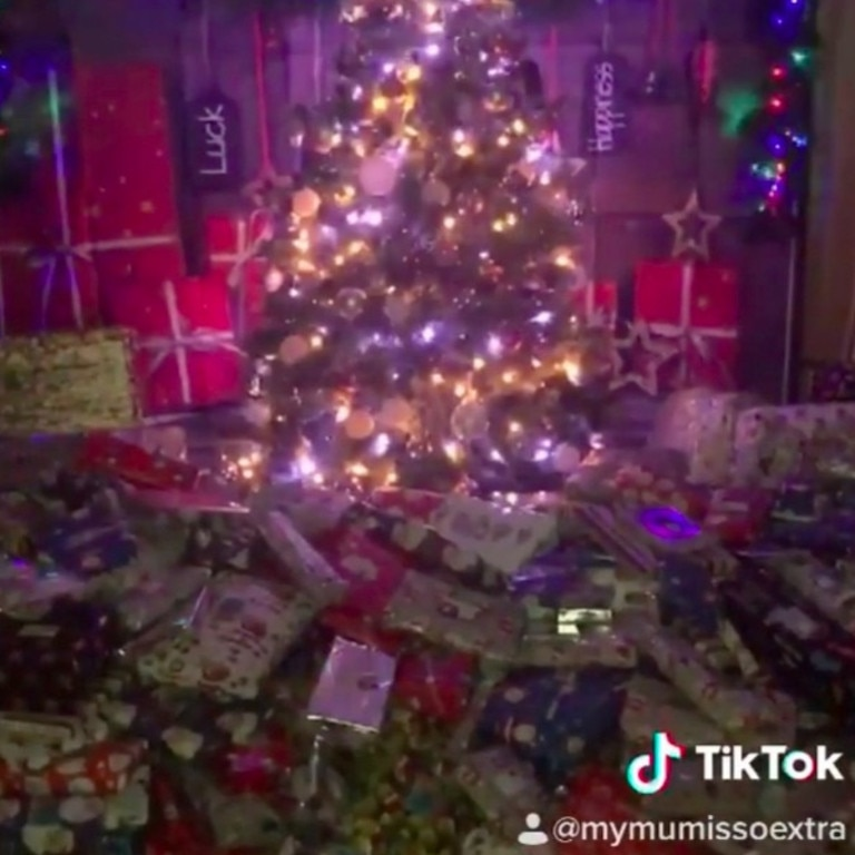 Emma Tapping has shown off her presents haul in a now-viral TikTok.