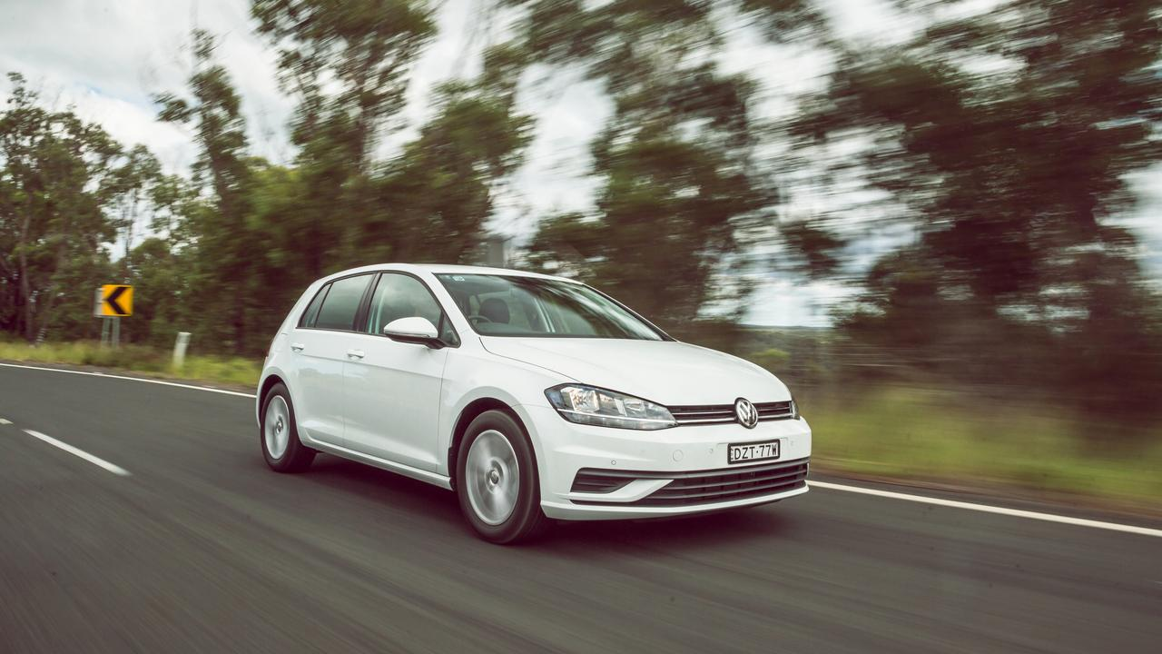 Volkswagen is set to replace the current Golf next year.