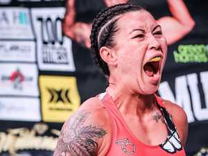 Gympie MMA star reveals fighting future after Cyborg loss