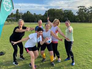 Revolutionary football program for women kicks on