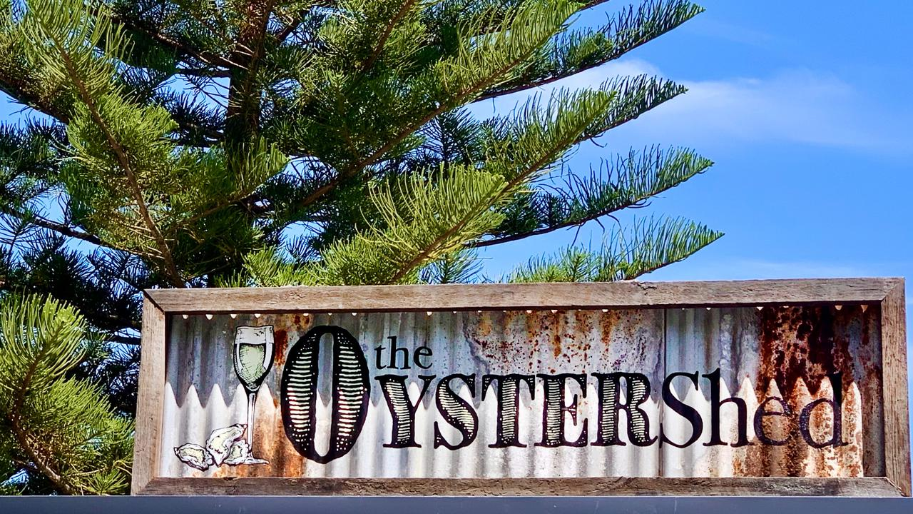 The Oyster Shed opens from noon to 8pm, Friday to Sunday. Picture: Scott Powick.